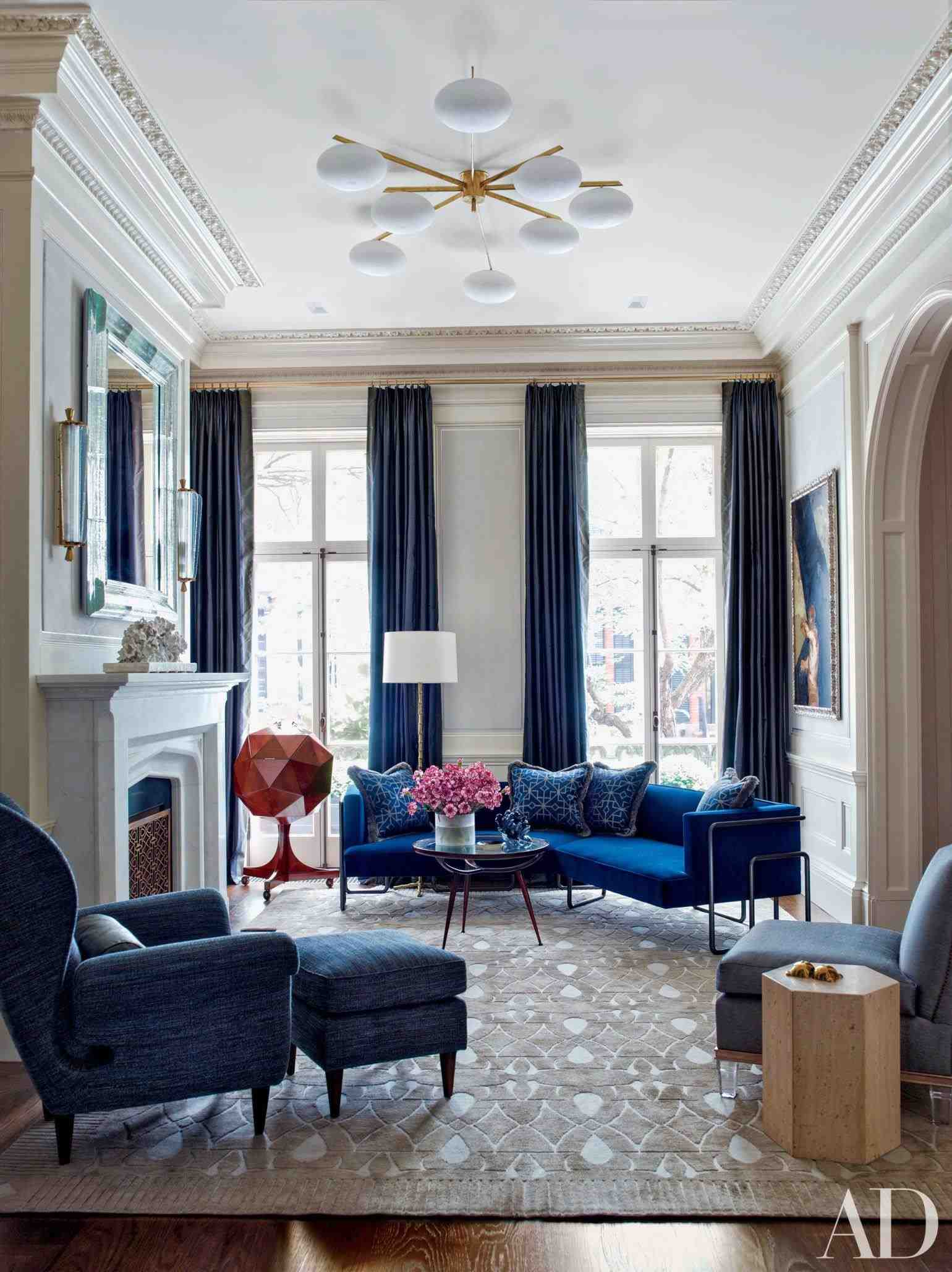 How A Mid-Century Chandelier Can Elevate Your Living Room Decor 5