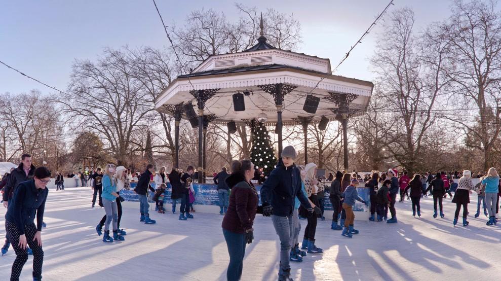 Sleigh Bells Ring As We Walk In a Winter Wonderland