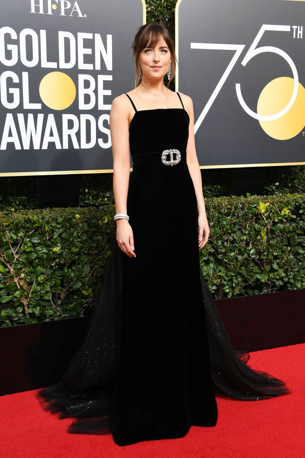 """2018 Golden Globes Red Carpet """"The World Could End Now"""" Dresses"""
