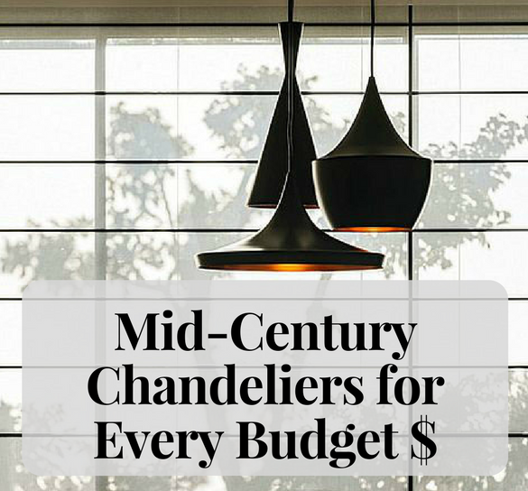 Love Light_ Mid-Century Modern Chandeliers For Every Budget FEAT
