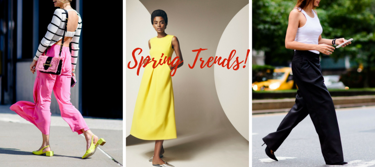 Everything You Need For The Spring Trends 2018 And Some More