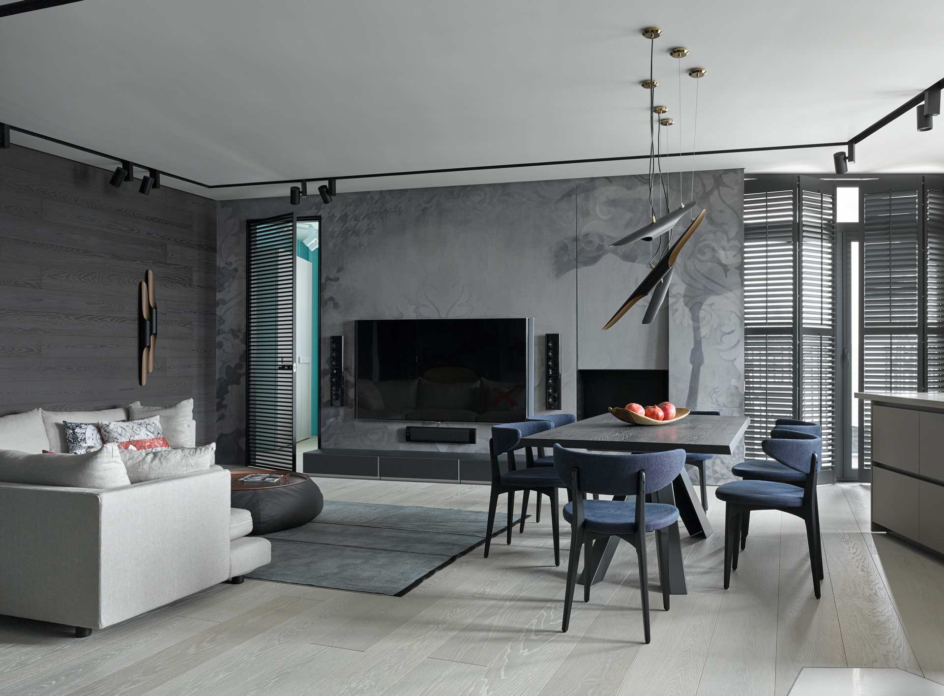 The Blue Apartment: A Trendy Apartment By The Baltic