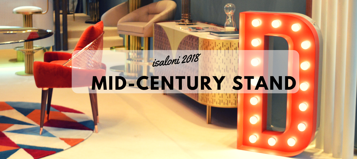 Keeping Up With iSaloni 2018 Mid-Century Best Stand! (1)