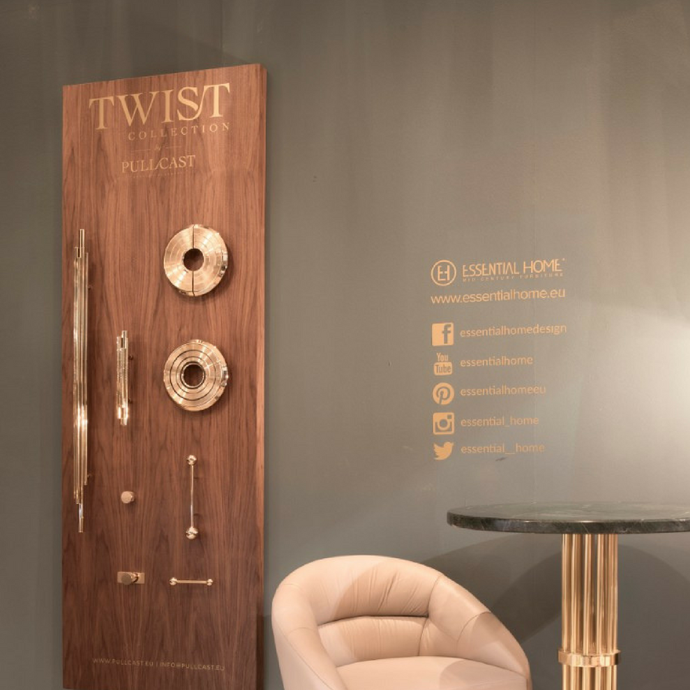 Keeping Up With iSaloni 2018 Mid-Century Best Stand! 7