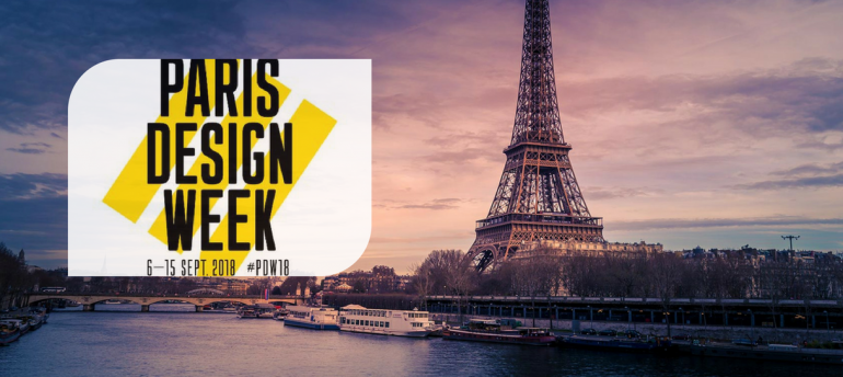 All You Need For This Edition Of Paris Design Week 2018!