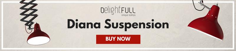 SuspensionLamp, Red, Diana, Product