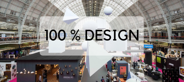 100% Design's Here & We're Enjoying Every Bit of The London Trade Show (1)