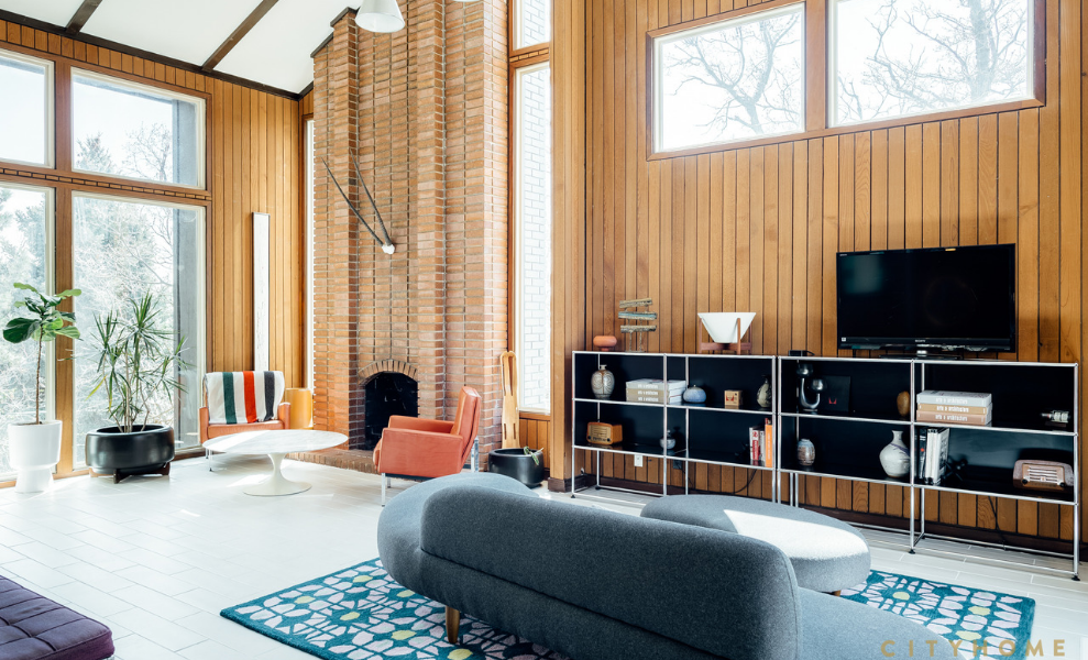 House Tour _ Top 6 Mid-Century Modern Homes On Sale! 4