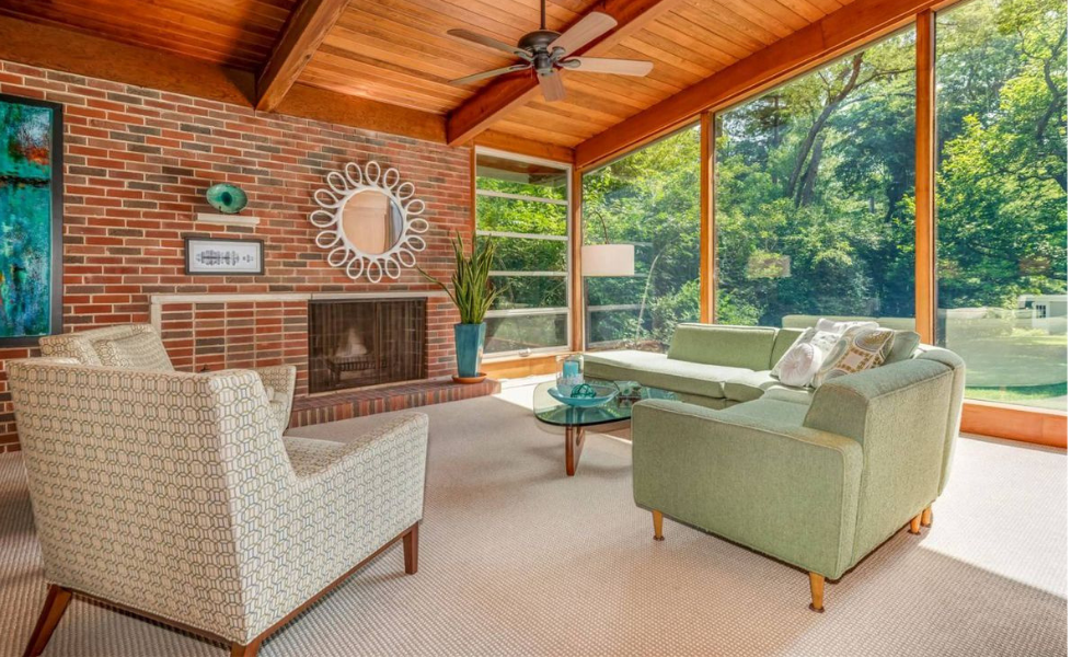 House Tour _ Top 6 Mid-Century Modern Homes On Sale! 6