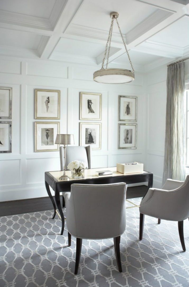 inspiring woman home office ideas | 8 Inspirational Home Office Ideas and Colour Schemes F ...