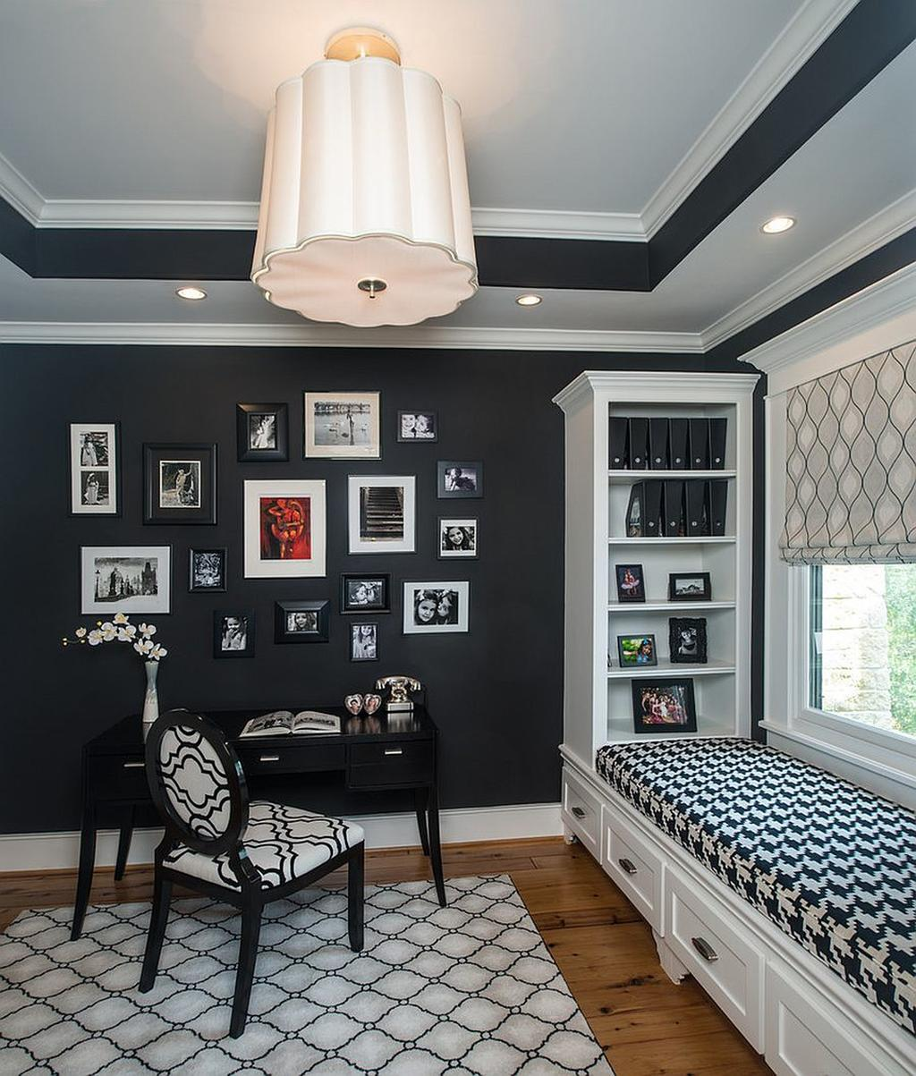 8 Inspirational Home Office Ideas and Color Schemes F 2019
