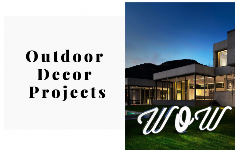 Outdoor Decor Projects That You're Dying To Have