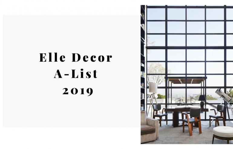 Elle Decor A-List 2019_ The Future Is Female