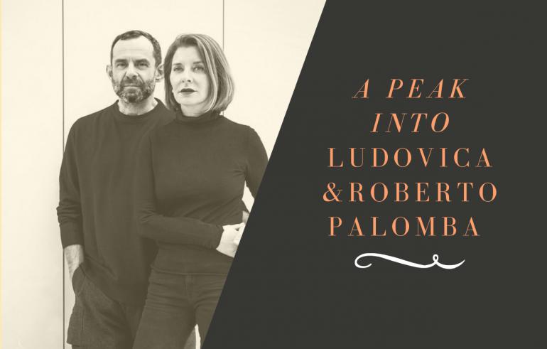 Ludovica and Roberto Palomba