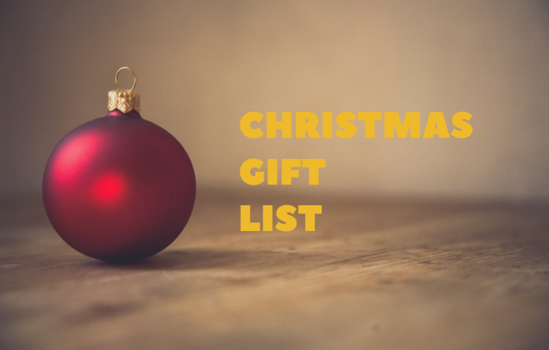 Answered_ Christmas Shopping List Ideas !