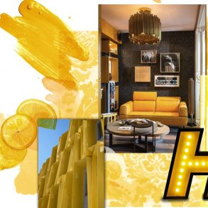 Color Trend Report - Home Decor Ideas With Pantone's Saffron Yellow