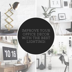 Office Decor Tips: Improve Your Workspace Decor With The Best Lighting