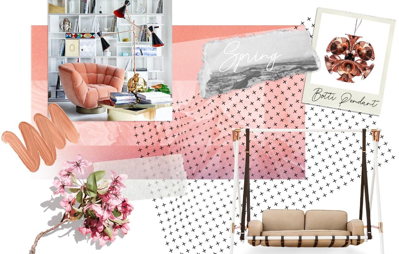 Colour Trend Report Home Decor Ideas With Pantone's Coral