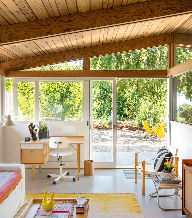 Inside Sandy and David Wasco New Oscar-Winning Mid-Century Modern Home In California