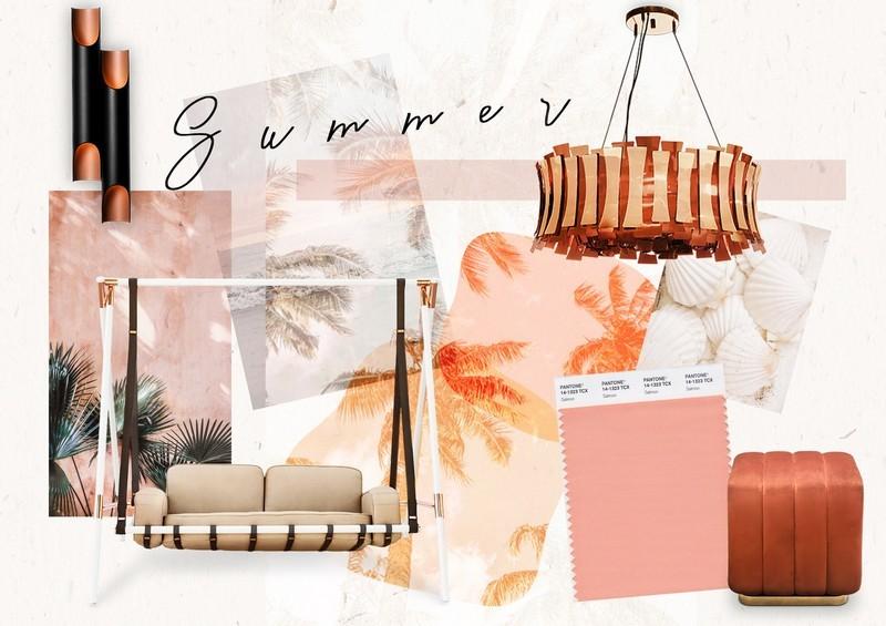 Summer Trend Alert - Amazing Decor Inspirations Starring Salmon Pink!