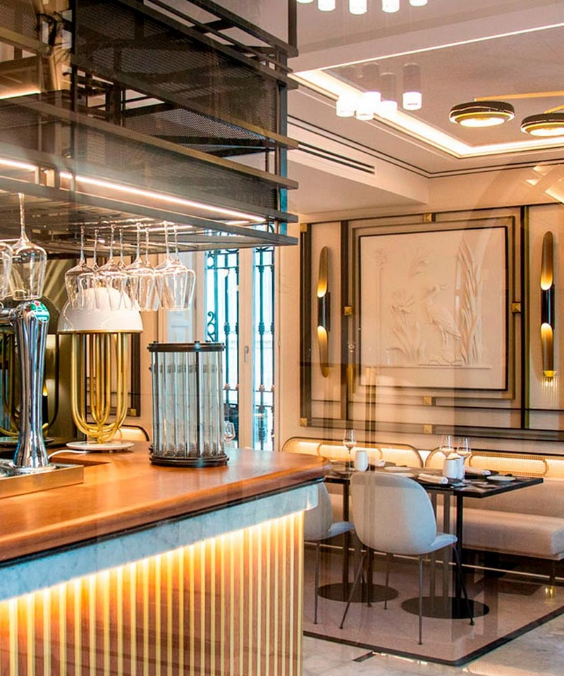 See Palacio Vallier's Unique Dining and Bar Area by Janfri Ranchal Studio
