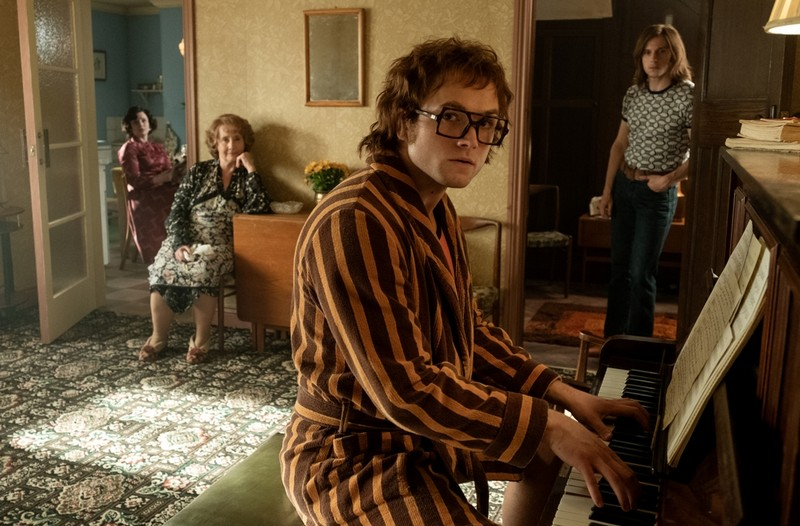 Recall Rocketman's Luxurious LA Mansion Set And See How You Can Steal The Look!