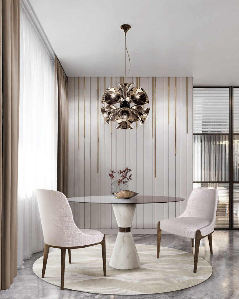 5 Dining Rooms That Do Monochromatic Color Schemes The Right Way!