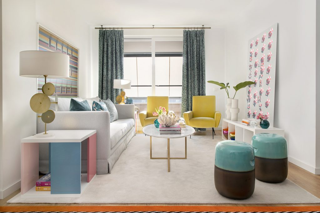 Get To Know This Colorful Modern Residential Project of Nuria Alia