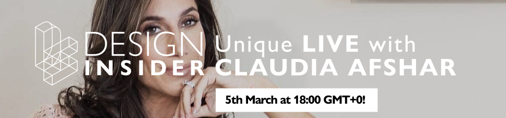 Here Is The Reason Why You Can't Miss The Live Interview With Claudia Afshar!