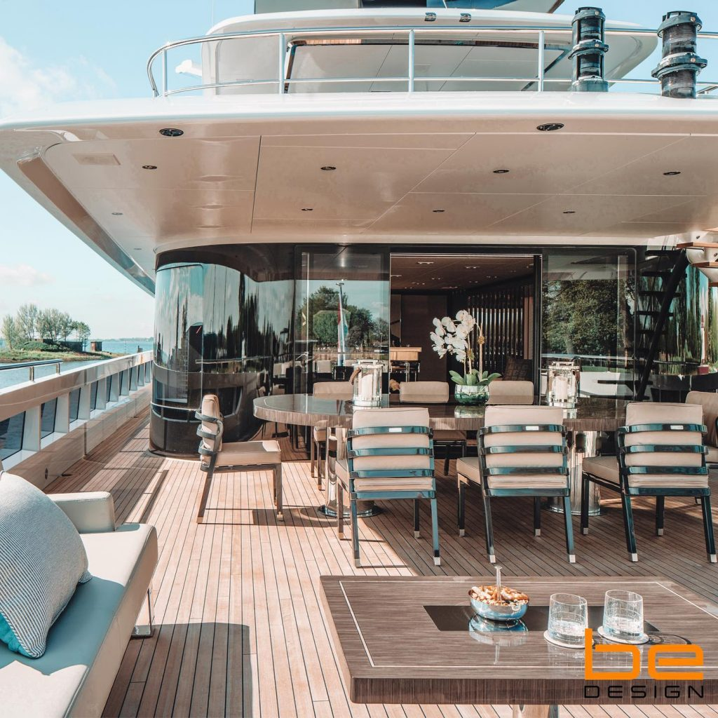 Jump on Board and Explore This Amazing Luxury Boat Project by Be Design