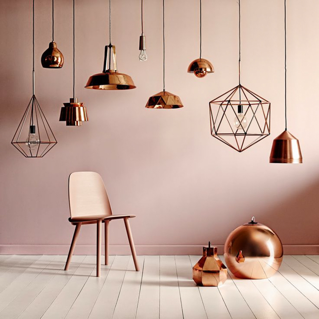 the best copper lighting for your kitchen