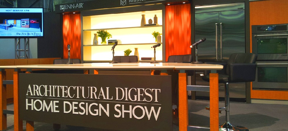 Architectural digest home design show 2015 highlights for Architectural digest show