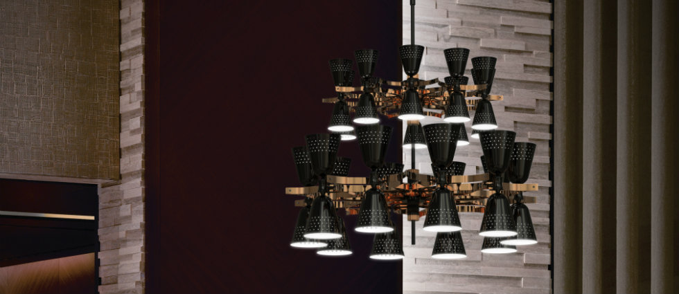 Back in Black - top chandeliers