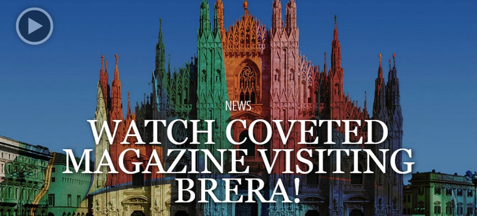 Coveted magazine a tour to brera district for Brera district