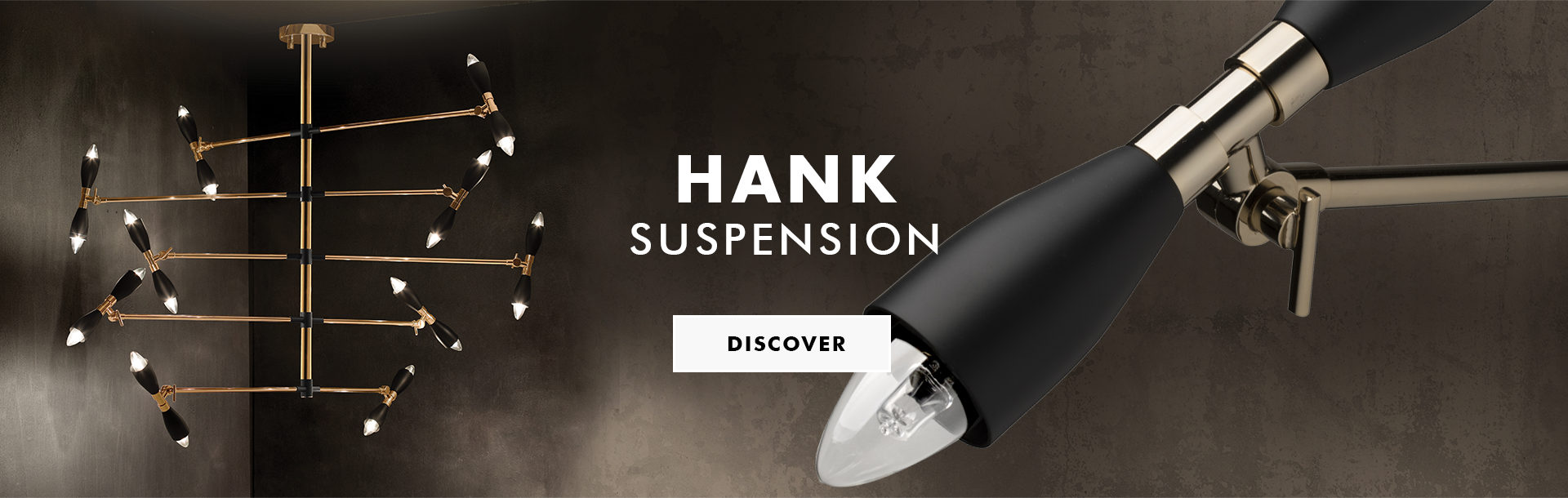 Hank suspension lamp