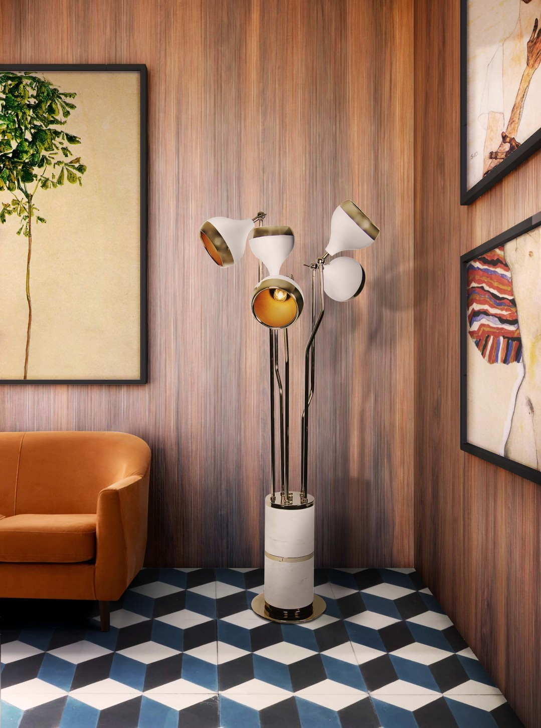 How Geometric Forms Can Give a Twist in House Decor 2