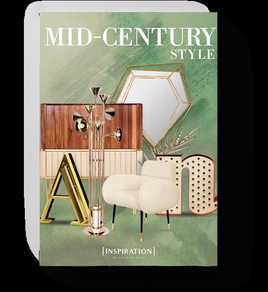 Mid Century Style Interiors Inspiration
