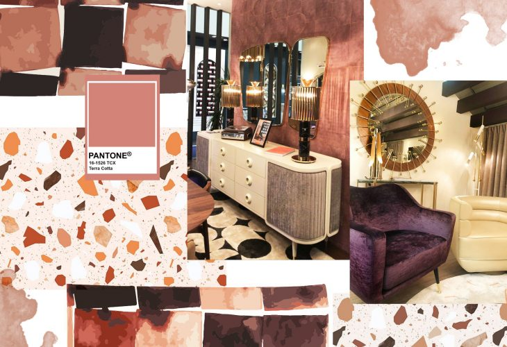 Terracotta - Earth Tones Decor Trend