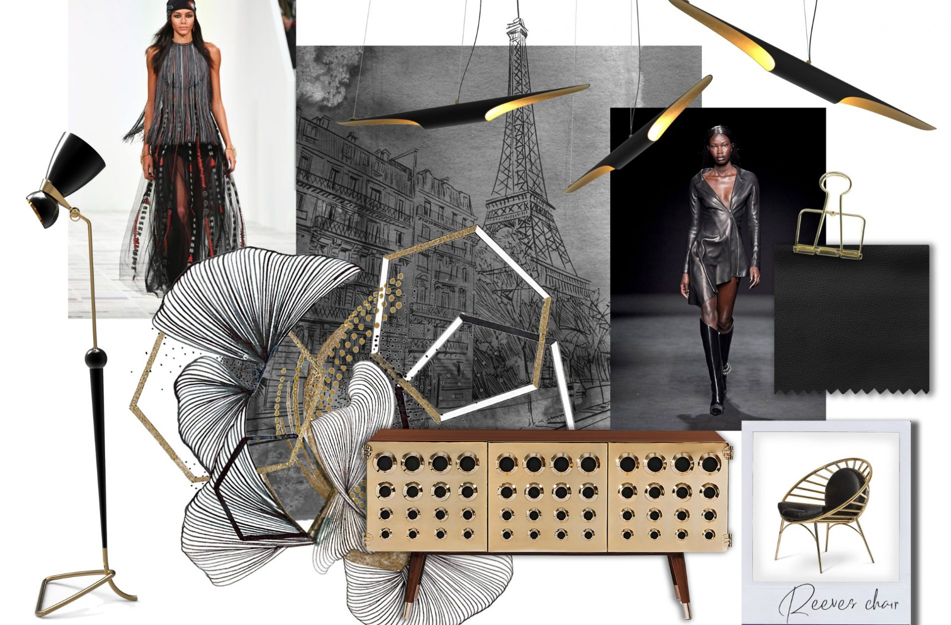 Paris Fashion Week Inspired Moodboard by DelightFULL