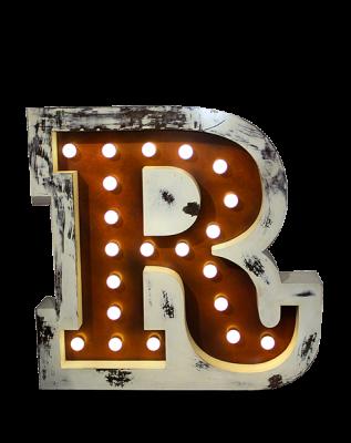 R Graphic Letter- DelightFULL