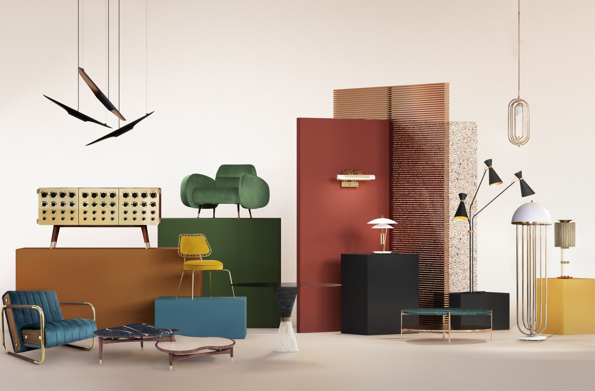 Exhibiting Today, A Mid-century Collection