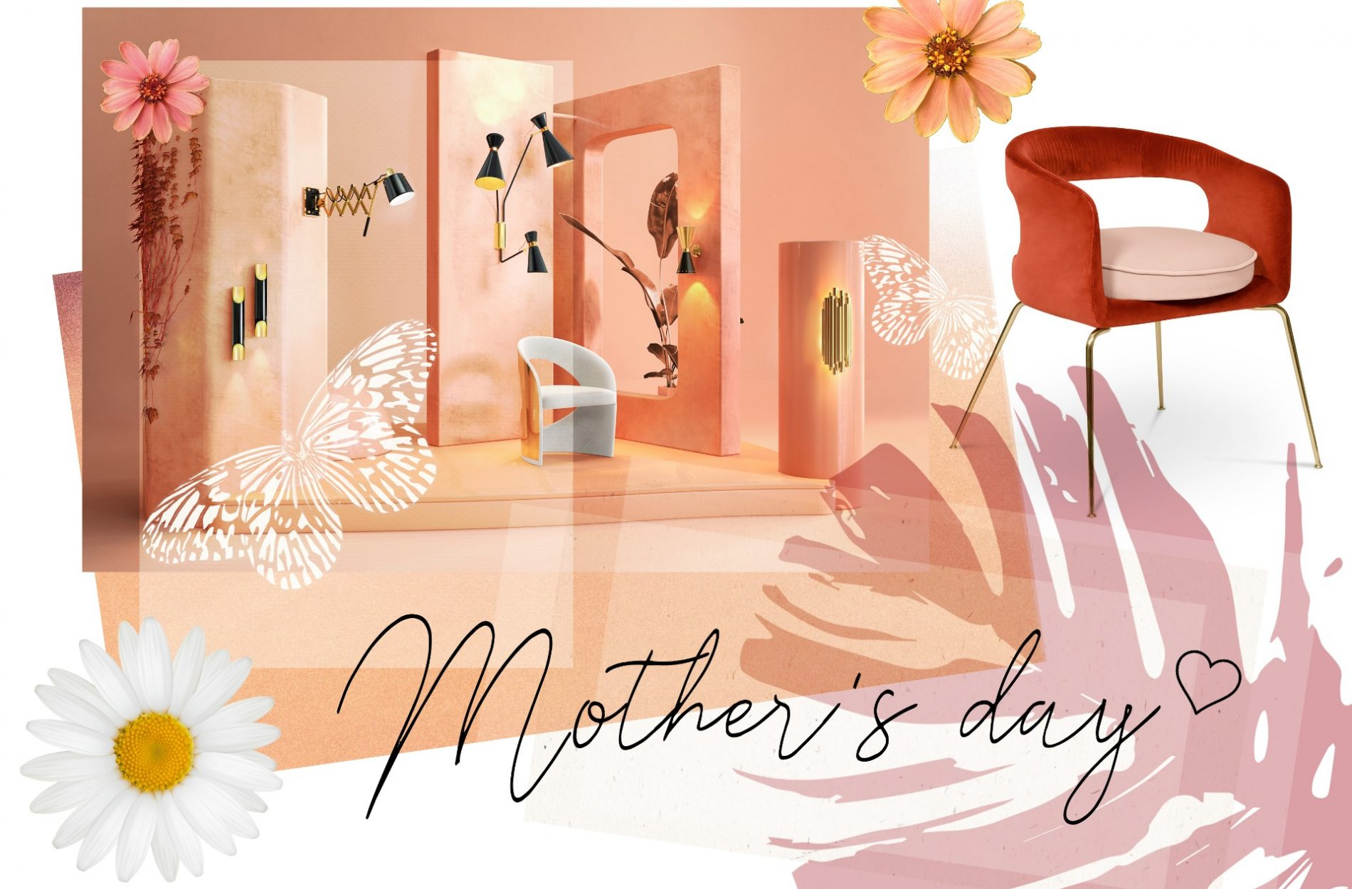 Happy Mother's Day With Pink Inspiration