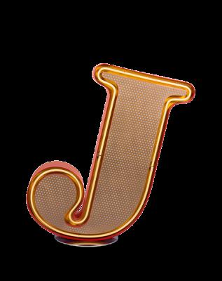 J Graphic Letter
