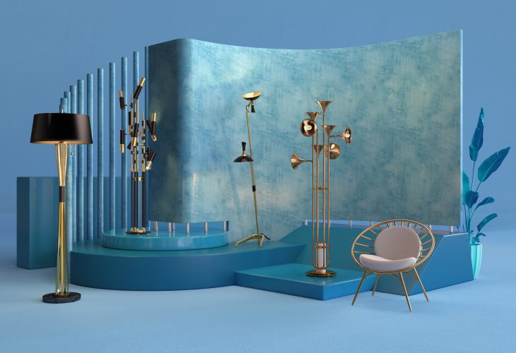 Floor Lamps Set By DelightFULL
