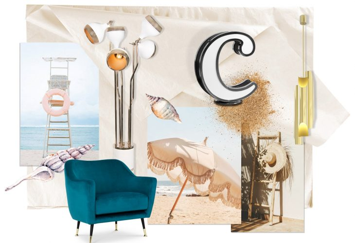 Moodboard Beach Vibes To Brighten Up Your Summer Season